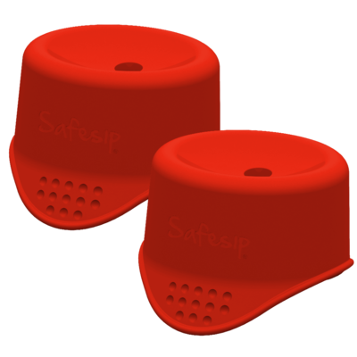 Twin-pack SafeSip (rood)