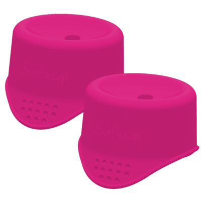 Twin-pack SafeSip (roze)